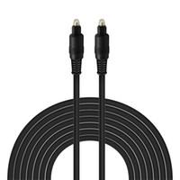 Optik kablo toslink Ses OD4.0mm Altın Kaplama 1m 1,5m 2m 3m 5m Dayanıklı Dijital SPDIF MD DVD Kablo