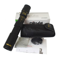 Оригинальный бинокль Никула 10-30x25 Увеличить Монокуляр телескоп высокого качества карманного Binoculo Охота Оптического Prism Scope нет штатива T191014