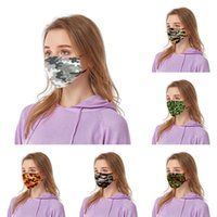 Camo Face Mask 18 Styles Anti Dust Outdoor Mouth Cover Camou...