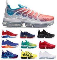 Neón Tns Tn Plus zapatos corrientes de las zapatillas de deporte Airo vapores Juego Real abejorro Betrue uva trama de impresión Maxes Olímpicos de 2020 mujeres del Mens Zapatos del instructor