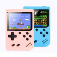 الجديدة المحمولة لعبة فيديو لاعب ألعاب البسيطة وحدة تحكم لعبة المحمولة مربع 3.0 بوصة لون LCD AV المغادرة 500/800 كلاسيكي ألعاب ريترو لبيع الهدايا للأطفال