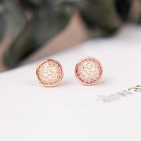 Модные круглые дисковые шпильки СЕРЬГИ для Pandora 925 стерлингового серебра CZ серьги с бриллиантами с оригинальной коробкой для женщин девочек