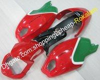 Ducati 696 796 795 M1000 Monster M1100 2009 2010 2013 2013 빨간색 녹색 오토바이 Cowling 애프터 마켓 키트 (사출 성형)