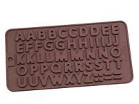 Yemek Kek dekorasyon araçlarınızın silikon çikolata kalıbı mektup ve sayı fondan kalıpları kurabiye araçları pişirme gereçleri