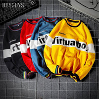 HEYGUYS New Man Hoodies Hip Hop Street usar Sudaderas Skateboard Men / Woman Sudaderas con capucha Sudadera 5XL