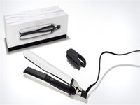 9HD Platinum Professional Hair Straightener Black White 2color EU Plug Com Retail Box DHL Fast Ship