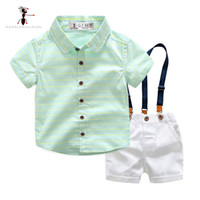 Kung Fu Ant 2019 New Summer Casual Baby Suit Fashion Short S...