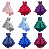 아기 의류 선발 대회 들러리 드레스 웨딩 볼 가운 공주 드레스 큰 아이는 여름 정장 파티 드레스 투투 드레스 의상 CZYQ4608
