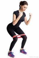5 ألوان يوغا مرن مطاط مقاومة مساعدة فرق الصمغ لمعدات اللياقة البدنية ممارسة الفرقة حبل تجريب سحب تمتد عبر التدريب