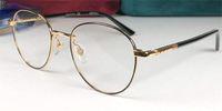Новые моды дизайнер оптические рецептурные очки 0392 Круглая рамка Популярный стиль высочайшее качество продажи HD прозрачный объектив
