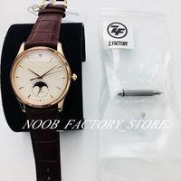ZF de súper lujo para hombre de la fábrica ultrafina fase de la luna Master Collection relojes 1362520 relojes automáticos de los hombres Cal. 925/1 39MM del reloj del reloj