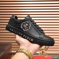 e75abcb7841c0 Wholesale kanye west heels for sale - Fashion Luxury Designer Brand Genuine  Leather Men Sneakers Mens