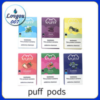 Newest puff pods Filled Pod Compatible Ju Pod With 10 Flavor...