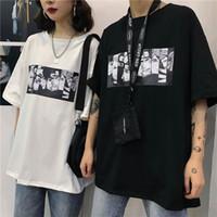 T-shirt dos homens de verão Naruto Harajuku Unisex manga curta T-shirt tendência anime japonês engraçado impressão estilo de rua mais T-shirt tamanho