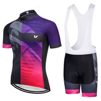 LIV 2019 Pro Team Cycling Jersey Set Outdoor Sport MTB Ropa de bicicleta Camisas Maillot Ciclismo Mujeres Quick Dry Bike Bike Ropa Zestore