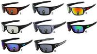 100٪ النظارات الشمسية الصيف الجديدة رجل امرأة التوربينات الشمسية في الهواء الطلق ركوب الدراجات الرياضية نظارات غوجيل نظارات شحن مجاني مزيج الألوان.