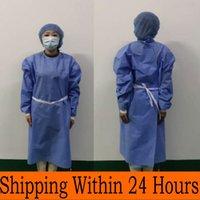 Einweg-Wasserdicht Ölbeständig Schutzkleidung der Kleidung für Spary Gemälde Dekorieren Kleidung Overall-Klagen Freies Verschiffen FY4002