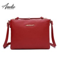AMELIE GALANTI crossbody bags for women Fashion small square...