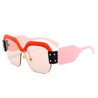 дизайнерские солнцезащитные очки негабаритные солнцезащитные очки женские солнцезащитные очки Square солнцезащитные очки индивидуальность лобовое стекло ретро цветная пленка светоотражающие очки