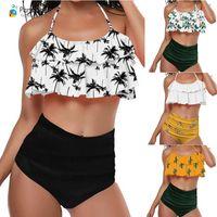 a2465a4338c ... Off Shoulder High Waist Swimsuit Women Beach Bathing Suit. US $15.28 /  Set. New Arrival