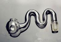 Wasserpfeifenzubehör [M] transparenter kleiner Topf Großhandel Glasbongs Ölbrenner Glas Wasserpfeifen Ölplattformen Rauchen frei