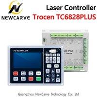 Vibrante corte del cuchillo Tc-6828plus Auxiliar del Controlador Laser Sistema de Control de fresado 2-3head rodillo de presión de corte Newcarve