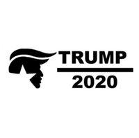 Trump 2020 pour autocollant de voiture vinyle portable fenêtre voiture camion président CA-234
