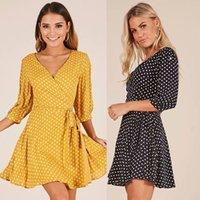 Piece mode point Wrap jupe robe femme vêtements d'été 2019