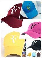 테니스 모자 여성 및 남성 2018 핫 야구 모자 남성 여성 로저 페더러 RF 하이브리드 모자 테니스 라켓 모자 캡
