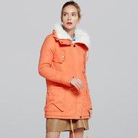 Nora Twips Mulheres Casaco de Algodão Moda Outono Inverno Quente Casacos Mulheres Cashmere Turndown Collar Casacos Long Lady Cotton Plus Size