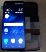 """100% Test Kalite Güvencesi 5.8 """"Samsung Galaxy S9 G960 G960F için Yedek Ekran LCD Çerçeve ile Dokunmatik Ekran Digitizer"""