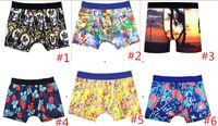 S-XL Top New Carton Carton Imprimir Mens Boxer Sexy Divertido Hombres Underwear Pedimentos para hombres 20 Modelos 3pcs MUCHO