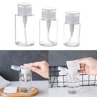 100ML Remover Reiniger Flüssigkeitsspeicherbehälter leer Kleine Druckflasche Ail Art Mini-Pumpen-Zufuhr-Flaschen Verpackung Flaschen