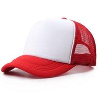 Düz katı at kuyruğu beyzbol şapkası 2020 dağınık çörekler şapka kamyoncu midilli kapaklar Unisex Visor Cap Baba şapka örgü yaz açık snapbacks A6605