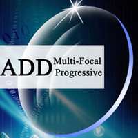 ddb1fc5bf ADD Multi-focal Lente Prescrição Eyewear Azul-ray / UV-anti Dioptria Asférica  Miopia Hipermetropia Presbiopia DIY lente