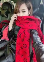 new autumn and winter men's and women's wool scarf high-quality lady's scarf length 168*30 cm lady's brand scarf