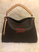 Großhandel neue Art und Weise PU-Leder-Brown Blumenhandtaschen-Frauen-Beutel-Schulter-Beutel-Handtaschen-Dame Tote Messenger Bag