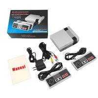 레트로 미니 TV 게임 콘솔 8 비트 휴대용 게임 플레이어 키즈 비디오 게임 콘솔 클래식 게임 선물