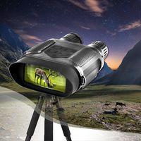 NV400B 디지털 밤 비전 스코프 사냥 7x31 IR NV 범위 HD 850nm 적외선 IR 카메라 캠코더 400m 범위 야간 투시경 범위