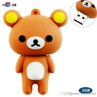 32GB USB Flash Drive with Cute Rilakkuma Shape 32G Memory St...