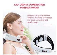 Impulso elettrico schiena e al collo per massaggi lontano infrarosso riscaldamento Dolore Sanità rilassamento strumento intelligente per massaggi cervicale