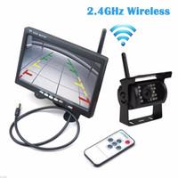 """auto OHANEE Wireless 4 Backup Telecamere IR visione notturna impermeabile con 7"""" il monitor di retrovisione per RV Truck Parcheggio autobus sistema di assistenza"""