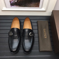 Leisure Business Men Shoes Quality True Leather Square Toes ...