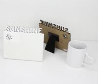 DIY Blank Sublimation desk plaque Photo board plate heat press print photo frame free shipping 100pcs
