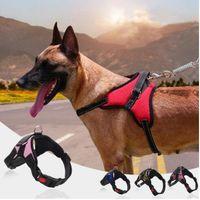 Mode chien Laisses Colliers Laisses Large Prévention Run Run Fast Pet Corde Petit Harnais de chien Vest Dog Fournitures WY108Q