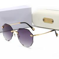 Ralferty عصري غير النظامية مضلع نظارات شمسية نسائية نظارات شمسية UV400 نظارات غير النظامية المثمن نظارة شمسية نظارة سولي فام