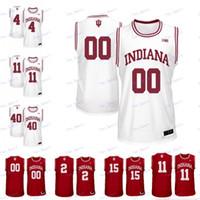 Özel Indiana Hoosiers NCAA Herhangi bir Adı 23 Damezi Anderson 4 Jake Forrester 23 Eric Gordon 13 Juwan Morgan Koleji Basketbol Formaları
