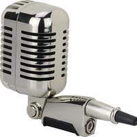 الكلاسيكية الرجعية الحنين ميكروفون 55sh سوينغ الكلاسيكية المهنية الحيوي السلكية ميكروفون صوتي مع تبديل للمرحلة كاريوكي Mikrofone