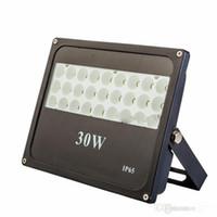 10 W 20 W 30 W 50 W 100 W açık LED projektörler su geçirmez IP65 LED Sel ışıkları duvar paketi lamba AC 85-265 V ücretsiz kargo