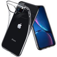 0.3mm 소프트 실리콘 TPU 고무 투명 케이스 아이폰 13 프로 최대 12 미니 11 XS XR x 8 7 6 6S Plus SE
